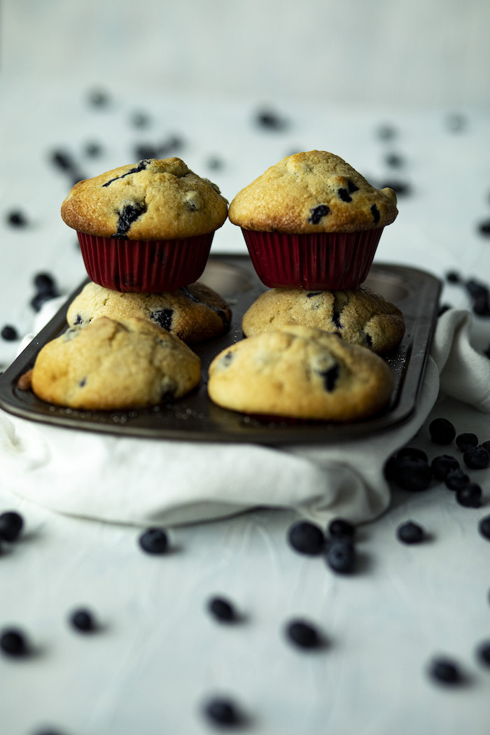 Simple, Perfect Blueberry Muffins