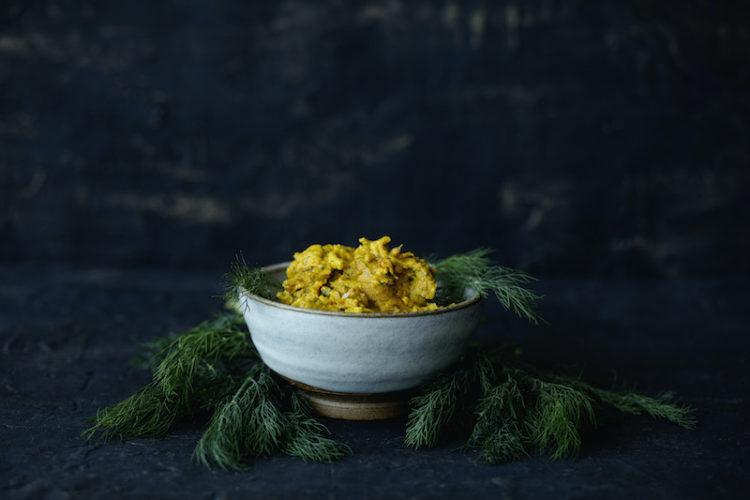 Dill Turmeric Scrambled Egg Recipe