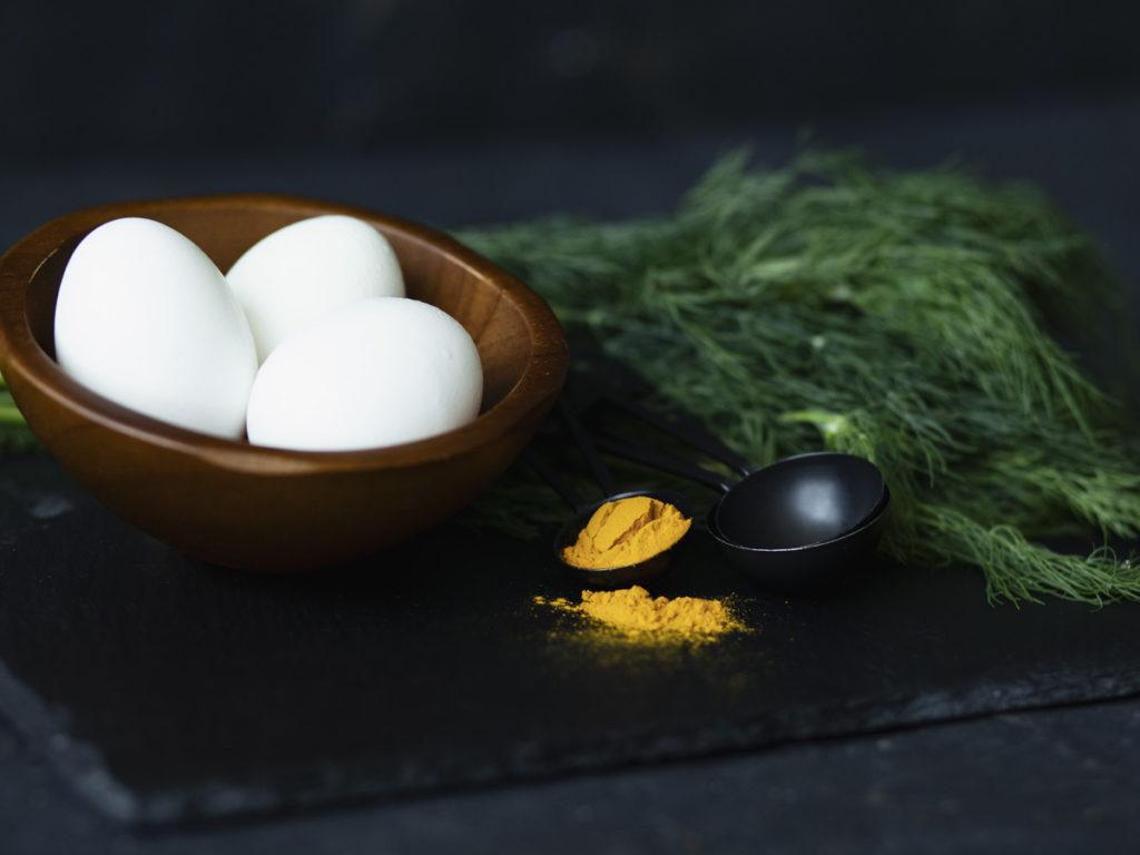 Turmeric, Dill, and Eggs