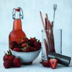 Strawberry-Rhubarb Simple Syrup Recipe