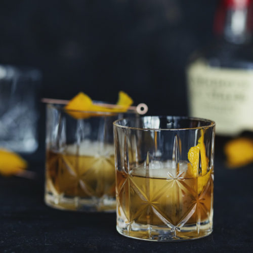 Classic, booze forward cocktail